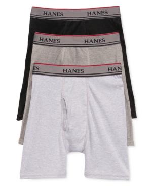 Hanes Platinum 3Pk Boxer Briefs Little Boys (47)  Big Boys (820)