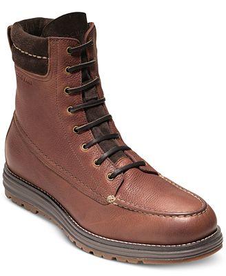 Cole Haan Men S Lockridge Grand Moc Toe Waterproof Boots