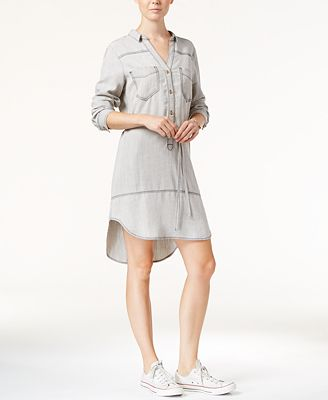 Velvet Heart Cynthia Popover Shirtdress