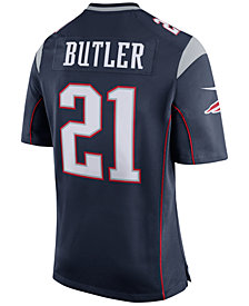 Nike Men's Malcolm Butler New England Patriots Game Jersey