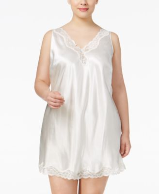 Plus Size V-Back Chemise, Created for Macy's