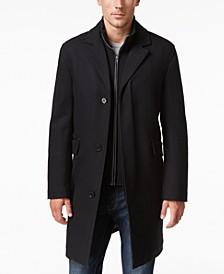 Men's Twill Bibby Overcoat