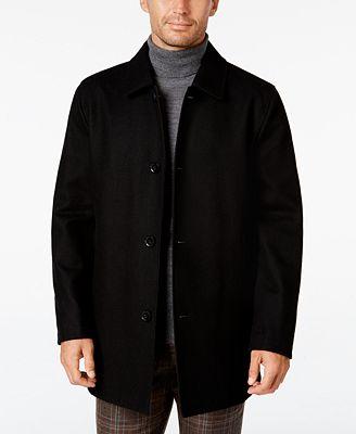 Cole Haan Men's Reversible Car Coat - Coats & Jackets - Men - Macy's