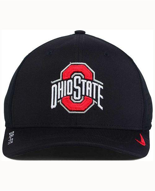 c2de9d7e111c8f Nike Ohio State Buckeyes Vapor Sideline Swoosh Flex Cap & Reviews ...