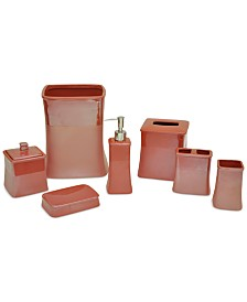Jessica Simpson Kensley Spice Coral Bath Accessories, Created for Macy's