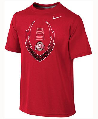 Nike kids 39 ohio state buckeyes legend football icon t for Ohio state t shirts for kids