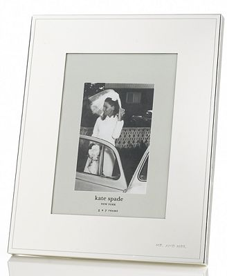 Kate Spade New York Darling Point Silver 5 X 7 Frame Picture