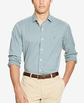 Polo ralph lauren men 39 s stretch performance shirt casual for Polo ralph lauren casual button down shirts