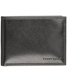 Portfolio Men's Leather RFID Wallet