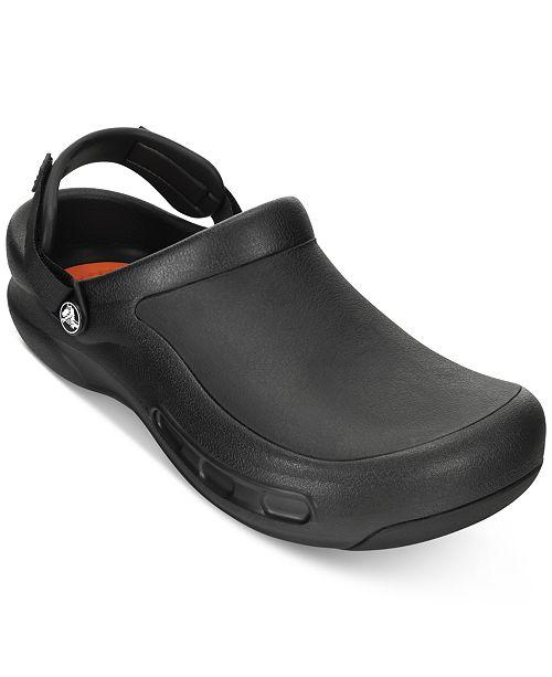 108d3e1762aa Crocs Men s Bistro Pro Clogs   Reviews - All Men s Shoes - Men - Macy s