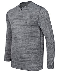 Greg Norman For Tasso Elba Men's Performance Henley, Created for Macy's