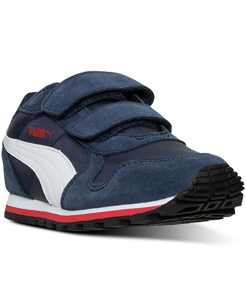 Puma Little Boys' ST Runner Casual Sneakers from Finish Line