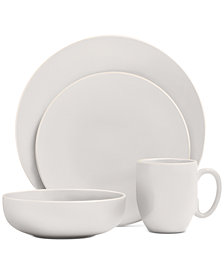 Vera Wang Wedgwood Vera Color White 16-Piece Dinnerware Set, Service for 4