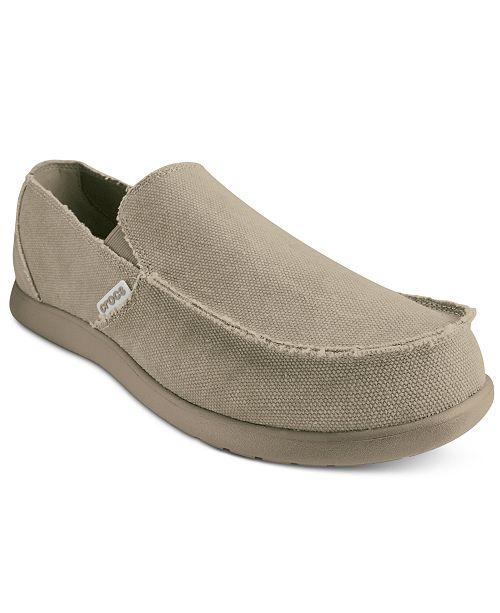 f21ec95e69a41 Crocs Men s Santa Cruz Loafers   Reviews - All Men s Shoes - Men ...