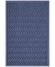 Bungalow Flooring Water Guard Chevron  2'x3' Doormat