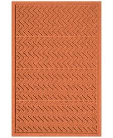 Bungalow Flooring Water Guard Chevron  2'x3' Doormat