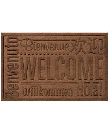 Bungalow Flooring Water Guard Worldwide Welcome 2'x3' Doormat