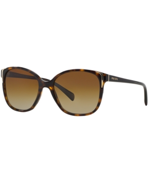 Prada Polarized Polarized Sunglasses, Pr 01OS