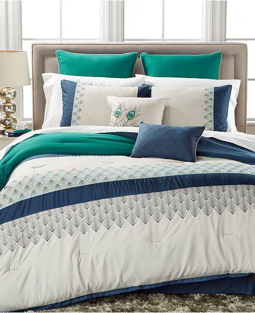 Hallmart Collectibles CLOSEOUT! Rollins 8-Pc. Queen Comforter Set