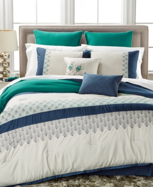 Closeout Rollins 8Pc Full Comforter Set Bedding
