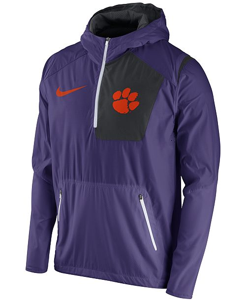 Nike Men's Clemson Tigers Speed Fly Rush Hooded Jacket