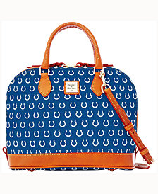Dooney & Bourke Indianapolis Colts Dooney & Bourke Zip Zip Satchel