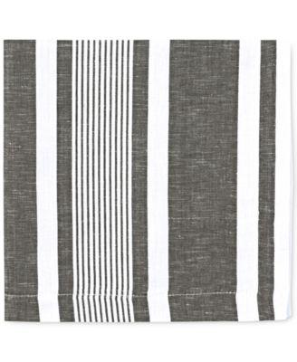 Mara Colorwave Graphite Collection 4-Pc. Napkin Set
