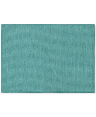 Colorwave Turquoise Collection 4-Pc. Placemat Set