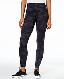 SPANX Women's  Look At Me Now Tummy Control Camo Leggings