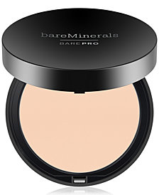 bareMinerals BarePro Performance Wear Powder Foundation, 0.34 oz