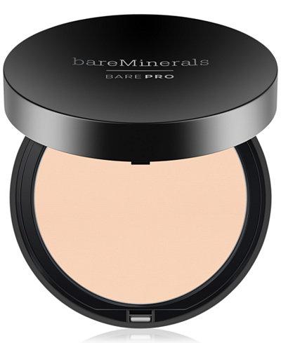 bareMinerals BarePro Performance Wear Powder Foundation, 0.34 oz