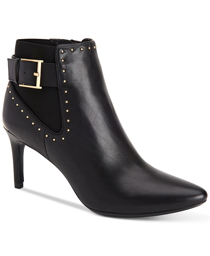 Calvin Klein - Women's Jozie Studded Booties