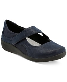 Clarks Collection Women's Cloudsteppers™ Sillian Bella Mary Jane Flats