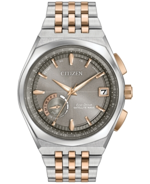 Citizen Eco-Drive Men's Satellite Wave Two-Tone Stainless St