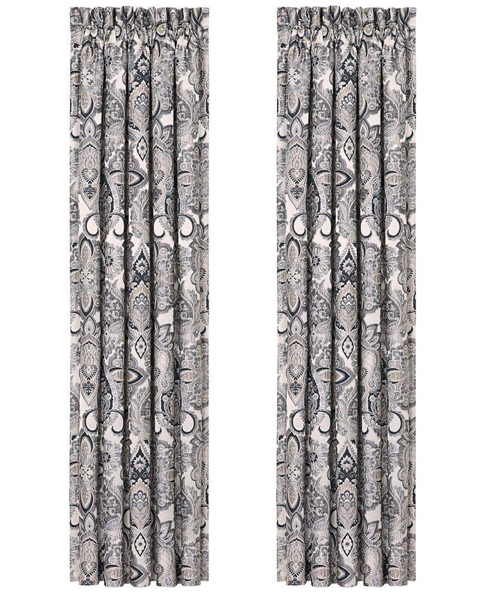"""J Queen New York - Giuliana 84"""" x 100"""" Pair of Window Panels"""