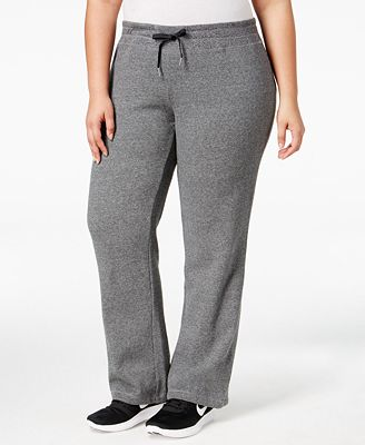 calvin klein performance plus size sweat pants - pants - plus