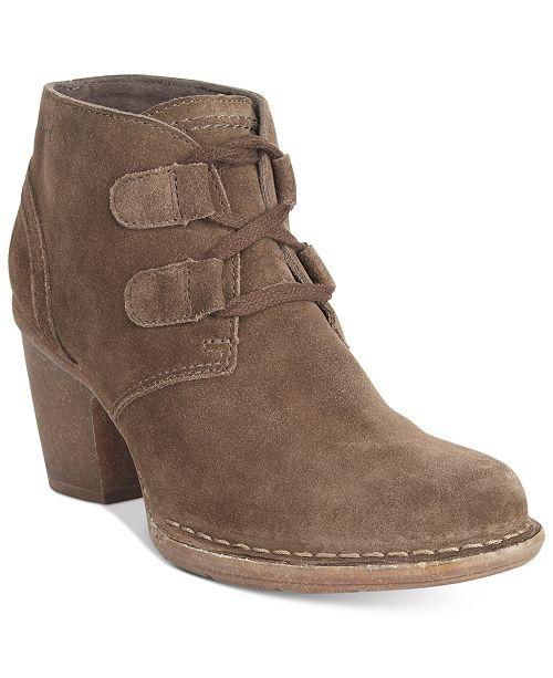 e80d6026 Clarks Women's Carleta Lyon Lace-Up Booties & Reviews - Boots ...