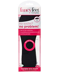 Fancy Feet by Washable Terry Insoles Shoe Inserts