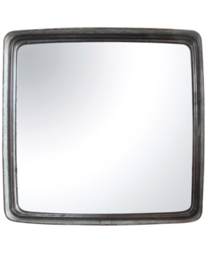 Square Iron Framed Mirror...