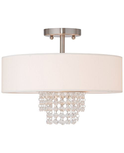 Livex Carlisle Semi-Flush Mount