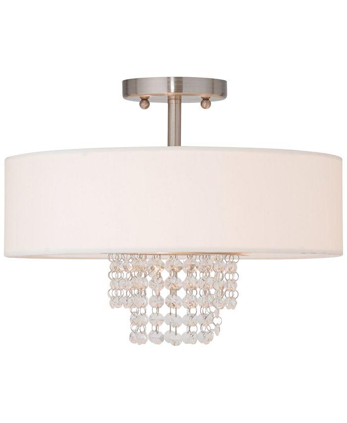 Livex - Carlisle Semi-Flush Ceiling Light