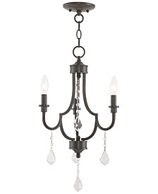 Livex Glendale 3-Light Mini Chandelier