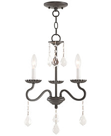 Livex Callisto 3-Light Mini Chandelier