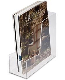 Iced Acrylic Magazine Holder