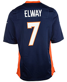 Nike John Elway Denver Broncos Retired Game Jersey