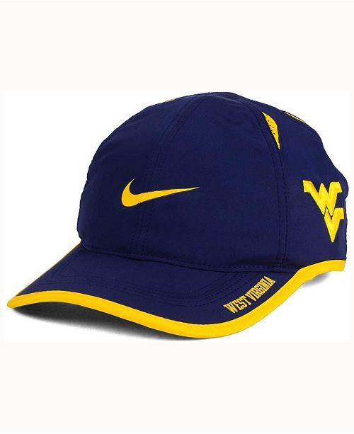 bd858d9a5f1 Nike West Virginia Mountaineers Featherlight Cap - Sports Fan Shop ...