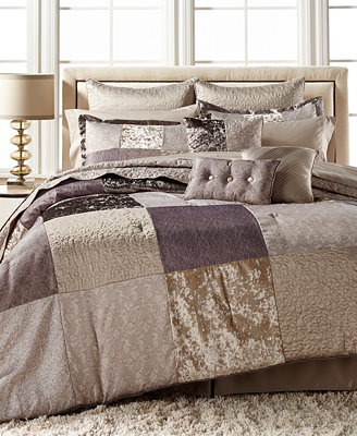 CLOSEOUT! Vienna Patchwork 14-Pc. California King ...