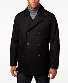 I.N.C. Men's Amberson Double-Breasted Pea Coat, Created for Macy's