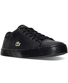 Lacoste Big Boys' Straightset Lace 316 Casual Sneakers from Finish Line