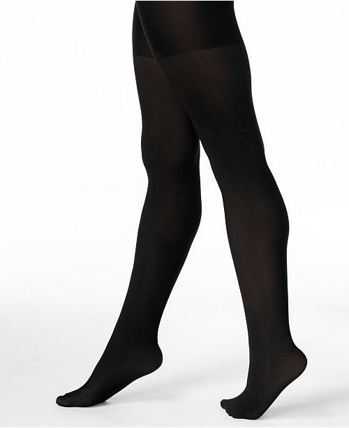 spanx women s opaque reversible tummy control tights also available
